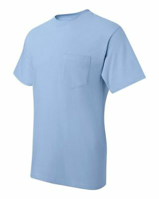 Hanes Beefy-T TAGLESS POCKET T-Shirt NEW 6.1 oz. 100% Cotton 5190 Mens S-3XL Tee 5