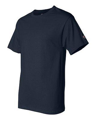 Champion Men's New Short Sleeve 100% Cotton Tagless T-Shirt S-2Xl 3Xl T525 6