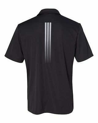 ADIDAS GOLF - Gradient 3-Stripes Polo, Mens Sizes S-3XL, Climalite Sport Shirt 6