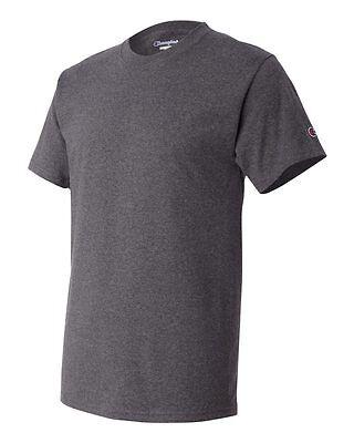 Champion Men's New Short Sleeve 100% Cotton Tagless T-Shirt S-2Xl 3Xl T525 9