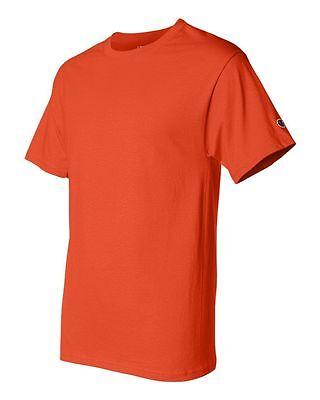 Champion Men's New Short Sleeve 100% Cotton Tagless T-Shirt S-2Xl 3Xl T525 3