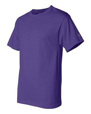 Champion Men's New Short Sleeve 100% Cotton Tagless T-Shirt S-2Xl 3Xl T525 7