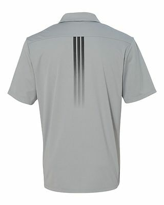 ADIDAS GOLF - Gradient 3-Stripes Polo, Mens Sizes S-3XL, Climalite Sport Shirt 7