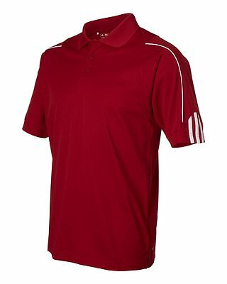 ADIDAS GOLF NEW Climalite Men's Size S-3XL Three Stripes Polo Sport Shirt, A76 3