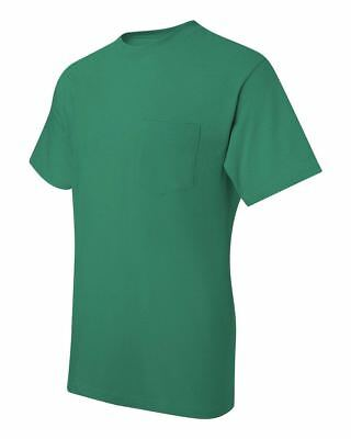 Hanes Beefy-T TAGLESS POCKET T-Shirt NEW 6.1 oz. 100% Cotton 5190 Mens S-3XL Tee 4