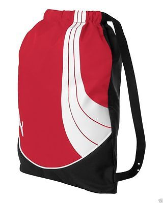 2addb4575221 ... PUMA Cat NEW Teamsport Drawstring Backpack Cinch GYM Sack School Tote  Bag PM21 8