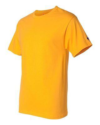 Champion Men's New Short Sleeve 100% Cotton Tagless T-Shirt S-2Xl 3Xl T525 4