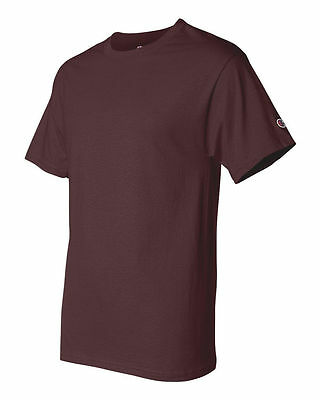 Champion Men's New Short Sleeve 100% Cotton Tagless T-Shirt S-2Xl 3Xl T525 8