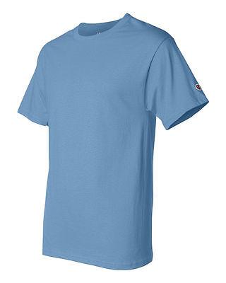 Champion Men's New Short Sleeve 100% Cotton Tagless T-Shirt S-2Xl 3Xl T525 12
