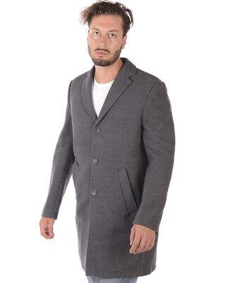 DANIELE ALESSANDRINI GREY uomo cappotto cammello T444N7873706 20