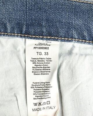 Jeans Daniele Alessandrini Cotone MADE IN ITALY Uomo Denim PJ5369L7223631 1111