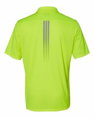 ADIDAS GOLF - Gradient 3-Stripes Polo, Mens Sizes S-3XL, Climalite Sport Shirt 5