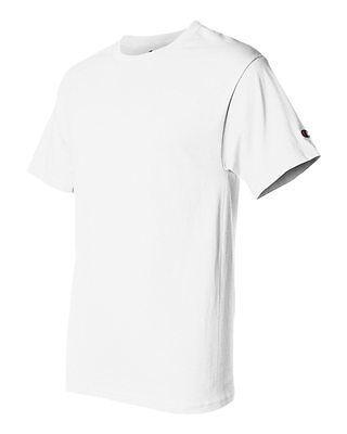 Champion Men's New Short Sleeve 100% Cotton Tagless T-Shirt S-2Xl 3Xl T525 10