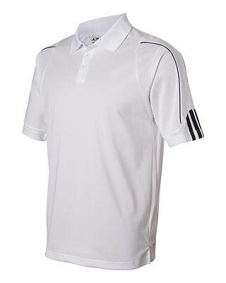 ADIDAS GOLF NEW Climalite Men's Size S-3XL Three Stripes Polo Sport Shirt, A76 4