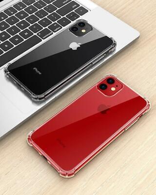 AntiChoc Coque + Verre Trempé iPhone 11 Pro MAX/XS/XR 6S/7/8 Gel Case Protection 5