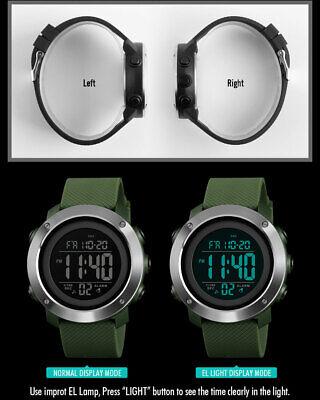 SKMEI Watch Mens/Womens Watches Waterproof Sport Outdoor LED Digital Wristwatch 9