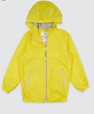 Packaway Jacket Mac Rain Coat Kids Boy Girl  NEW Ex M&S Age 3-16 Yrs Lightweight 9