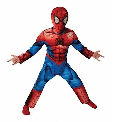 Miglior prezzo cerca le ultime La migliore vendita del 2019 AMAZING SPIDERMAN DELUXE Costume Carnevale Originale Marvel Cosplay SPIDRU05