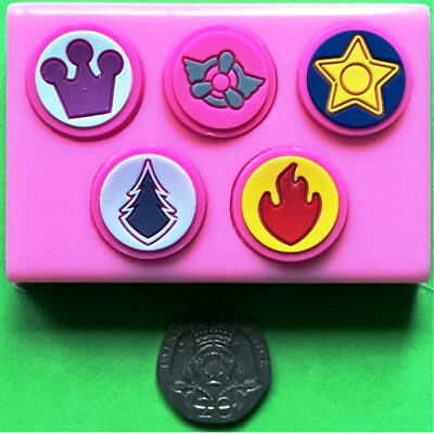 PAW PATROL BADGES Chase Skye Marshall Everest Silicone Mould
