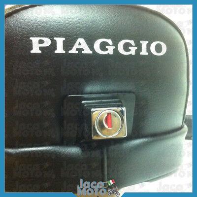 Sella VESPA 50 SPECIAL R L N / 125 ET3 con serratura dicitura scritta PIAGGIO 4