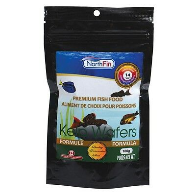 NORTHFIN KELP WAFERS 14 mm 250g Herbivore Omnivore Fish Food Bottom feeders 2 • EUR 18,55