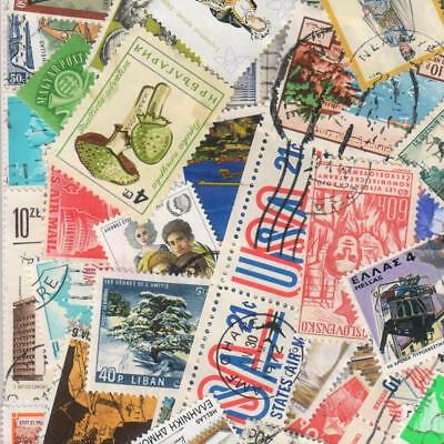 1000s ALL DIFFERENT OLD WORLD Stamps Collection Off Paper in Lot Packs of 150+ 7