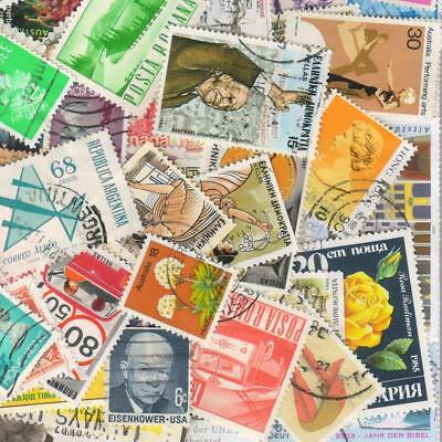 1000s ALL DIFFERENT OLD WORLD Stamps Collection Off Paper in Lot Packs of 150+ 10