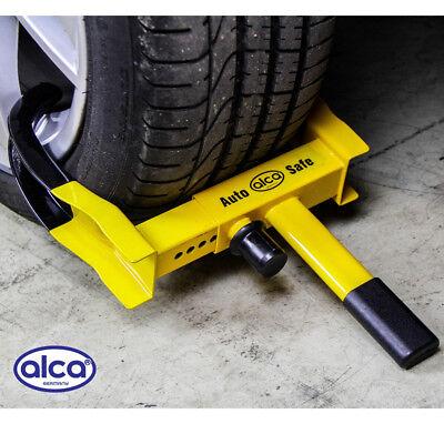 HEAVY DUTY car WHEEL CLAMP safe lock van motorhome trailer off road 3 key SECURE 10