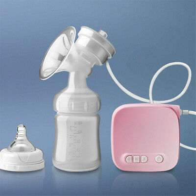 Infant Electric Comfort Breast Pumping Breastpump Feeding Suction Bottle S4 2