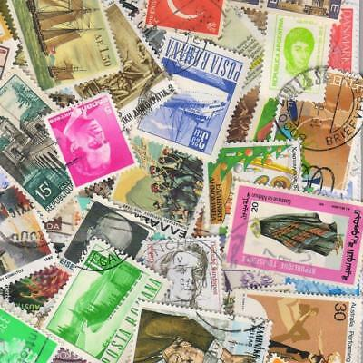 1000s ALL DIFFERENT OLD WORLD Stamps Collection Off Paper in Lot Packs of 150+ 8