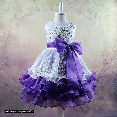 ... Vestito Bambina Abito Cerimonia Elegante Girl Party Princess Dress  CDR056 8 b402622ef96