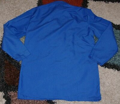 "Best Medical Woman L/S Staff Lab Coat 3 pocket Royal 30"" Length Sz XL/2X (46)"