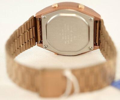 Casio Men's Rose Gold Stainless Steel Digital Flash Alert Watch B640WC-5A New 3