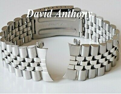 18mm 20mm OR 22mm FOR JUBILEE LINK STYLE CURVED END ENDS WATCH BRACELET QUALITY 2