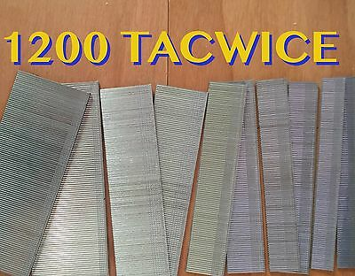 1200 Assorted Tacwise Nails 20mm 25mm 30mm 35mm 18 Gauge/18g/180 Galvanised Gun 2