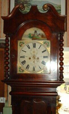 Victorian Newcastle On Tyne Grandfather / Longcase  Clock ( J. Rosenberg ) 4