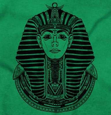 Ancient Egyptian Pharaoh Shirt   Mystic Scarab Symbol Tarot Long Sleeve Tee 2