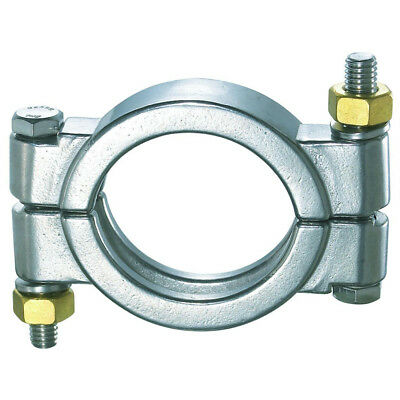 """HFS(R) 1.5"""" Sanitary Clamp - High Pressure - Tri Clamp Clover Stainless Steel"""