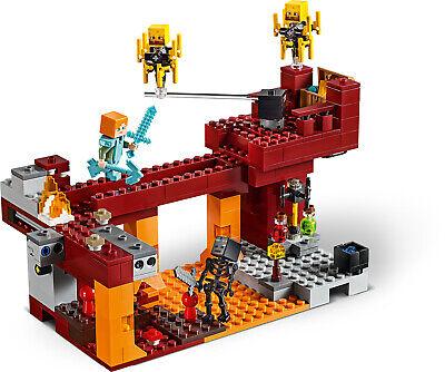 LEGO Minecraft 21154 Die Brücke Wither-Skelett Nether-Kulisse  N8/19 6