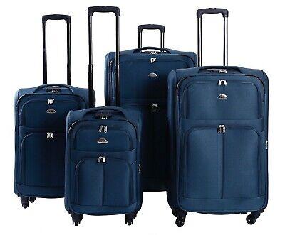 Koffer Stoff Stoffkoffer Trolleys Kofferset Reisekoffer Weichschalen M L XL XXL 5