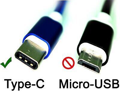 FAST CHARGING USB 3.1 Type C to USB Cable Braided for Samsung S8/S9/S10 Note lot 2
