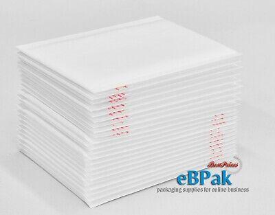 Bubble Mailer Size #01 160x230mm - Plain White  Padded Bag Envelope 50/200/500 3