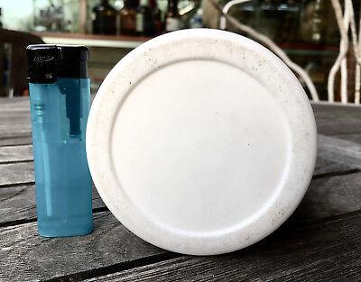 Labor - schwere, massive Flasche aus TEFLON mit Schraubverschluß - Selten!! 6