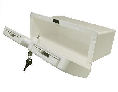 Handschuhfach Staufach abschließbar 2 Becherhalter Stauraum Staukasten glove box 3
