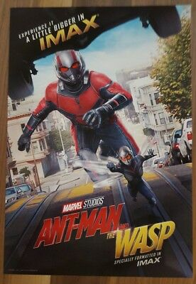 """Marvel Studios ANT-MAN AND THE WASP Official Movie 13"""" x 19""""  IMAX Poster-HTF 5"""