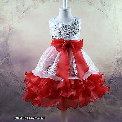 ... Vestito Bambina Abito Cerimonia Elegante Girl Party Princess Dress  CDR056 11 ae44a53b148