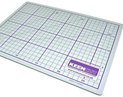 KEENCUT DOUBLE SIDED CUTTING MAT PAPER A4 230mm x 300mm PICTURE FRAMING TRIMMING 2
