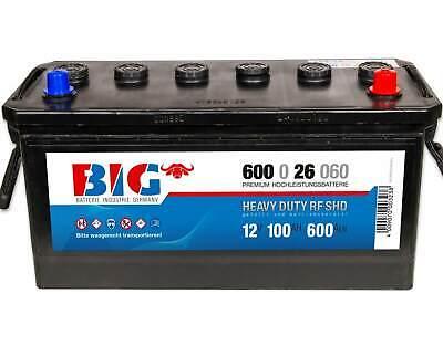 BIG LKW Batterie 12V 135Ah 680A Starterbatterie 63545 Nutzfahrzeug Traktor 120Ah