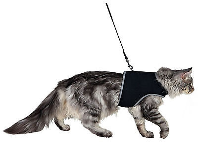Trixie Soft Cat Harness With Lead 1.2m 24-42cm 2