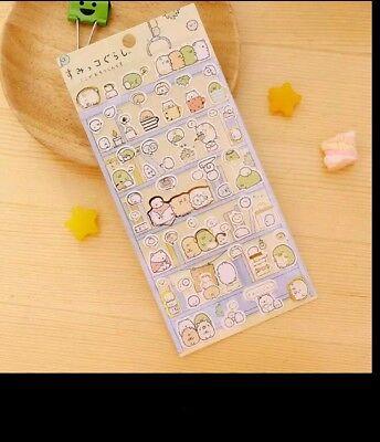 Sumikko Gurashi Stickers Cute Anlimals DIY Stickers Japanese M7V7 Sticker M5M0